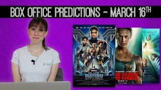 Tomb Raider Box Office Predictions
