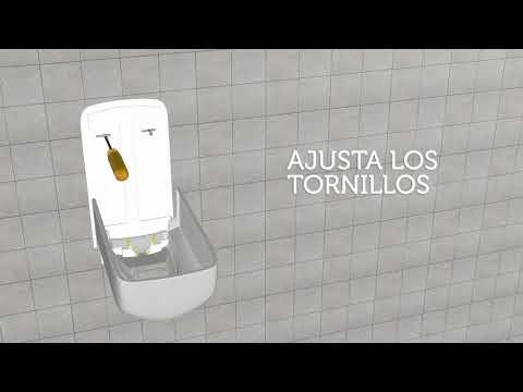 Instalación dispenser Foam Soap Manual
