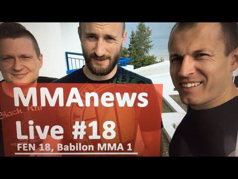 """MMAnews Live #18: """"Ossoliński i Bosacki"""" na żywo od 12:00"""