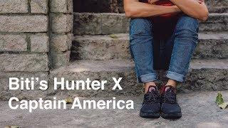 Trên tay Biti's Hunter X Marvel (phiên bản Captain America)