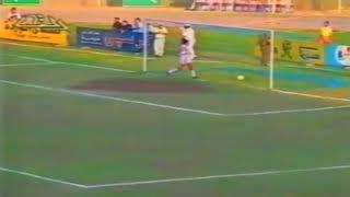 اهداف مباراة الزمالك و المصرى 2-0 الدوري المصري الممتاز 1994/1993 ...