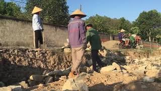 Hướng dẫn cách xây nhà đơn giản của Ông Sơn - Em Hoa Vlogs