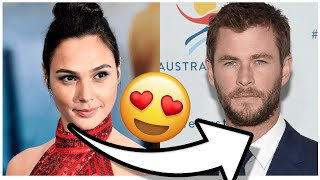 Female Celebrities Being Thirsty For Chris Hemsworth