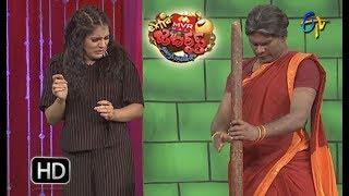 Chammak Chandra Performance | Extra Jabardasth | 29th December 2017  | ETV Telugu