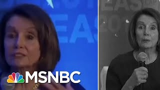 Examining The Altered Videos Of Speaker Nancy Pelosi | Velshi & Ruhle | MSNBC