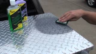 How to Polish Diamond Plate the Easy Way by Hand #1