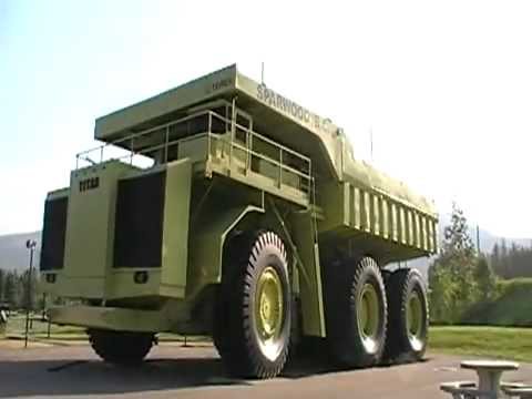 worlds biggest dump truck youtube. Black Bedroom Furniture Sets. Home Design Ideas