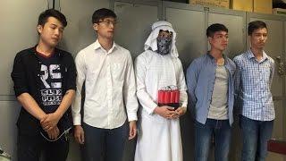 Triệu tập nhóm giả IS quăng bom khủng bố chấn động Hà Nội