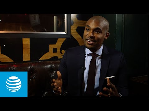 Matchmaker and relationship coach Paul Brunson talks about what inspires him to make the world a better place for AT&T 28 Days.