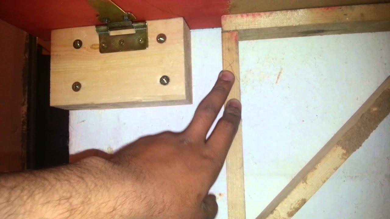 Fabriquer Une Table Escamotable table rabattable pour balcon