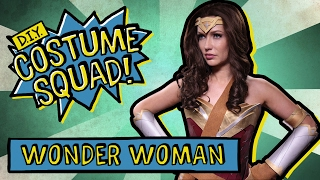 Make Your Own Wonder Woman Costume - DIY Costume Squad