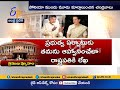 Chandrababu discusses post poll scenario with Sonia Gandhi