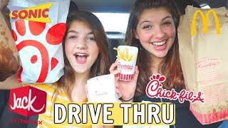 Testing EVERY FRENCH FRY from fast food restaurants * drive thru challenge *