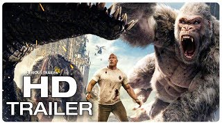 RAMPAGE All Movie Clips + Trailer (2018)