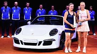 2015 Porsche Tennis Grand Prix WTA - Final's Highlights