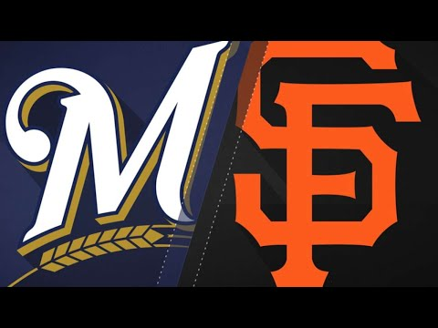 San Francisco Giants vs Milwaukee Brewers