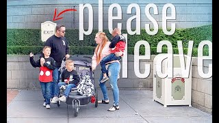 We got kicked out of Disneyland (& here's WHY)