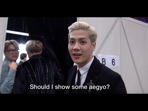 MAMA 2015 Backstage: GOT7 BamBam Interview + Jackson's