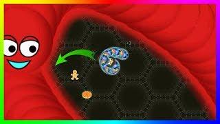 Wormate.io Best Pro Tiny Worm Epic Escape In Wormateio Best Trolling Gameplay