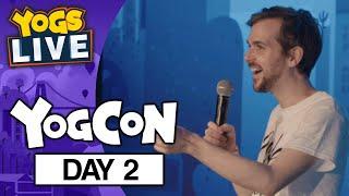 YOGCON 2019 - TWITCH STAGE DAY 2 - 04/08/19