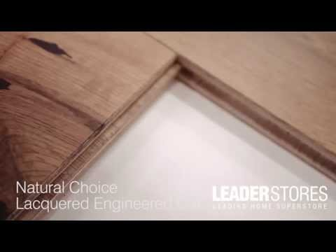 Wood Plus Natural Choice 20/6x220mm Lacquered Structural Engineered Oak Flooring