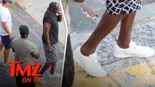Michael Jordan Rocks Unreleased Jordans On Italian Vacation | TMZ TV