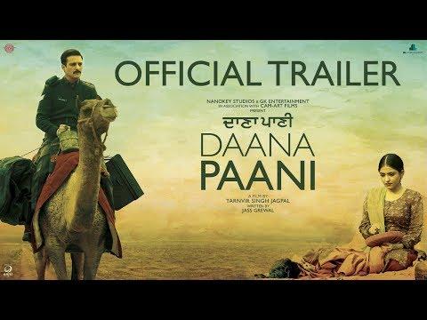 Daana Paani - Official Trailer - Jimmy Sheirgill - Simi Chahal
