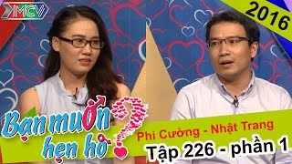 Quyền Linh hết lòng động viên chàng trai nhút nhát tìm bạn gái | Phi Cường - Nhật Trang | BMHH 226