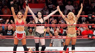 Unseen video of Paige's return and the Raw debut of Mandy Rose and Sonya Deville