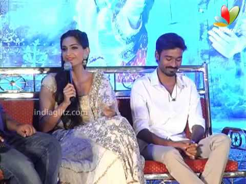Dhanush: Hereafter i won't imitate Rajini | Raanjhnaa Press Meet | Sonam Kapoor