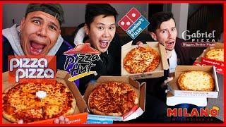 BLINDFOLDED PIZZA TASTE TEST