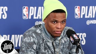Russell Westbrook 'cheating everybody,' sending a bad message with interview antics   The Jump
