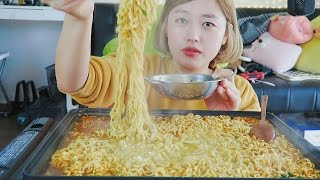 How much Ramyun can I eat? Challenge