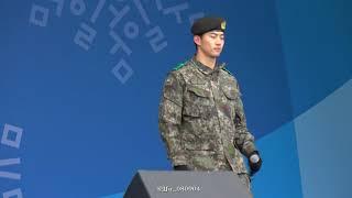 180219 평창 헤드라이너쇼 리허설 :: I'll Be Back #택연 #Taecyeon
