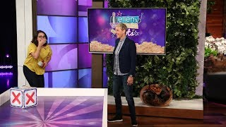 Ellen Leads a Fan Down the 'Road to Riches'