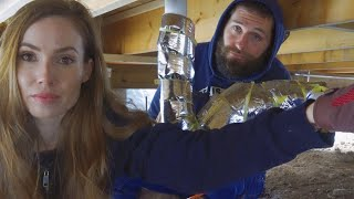 Frozen Pipes Burst | Building Our Own Home