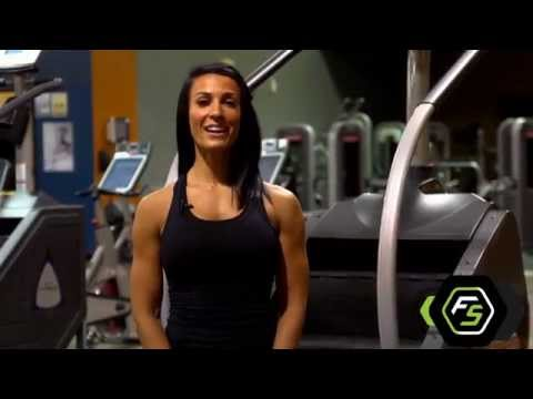 Fat Burning Stairmaster Exercise Video - FitStrong.com