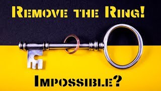 The mind-boggling Key and Ring Puzzle!!