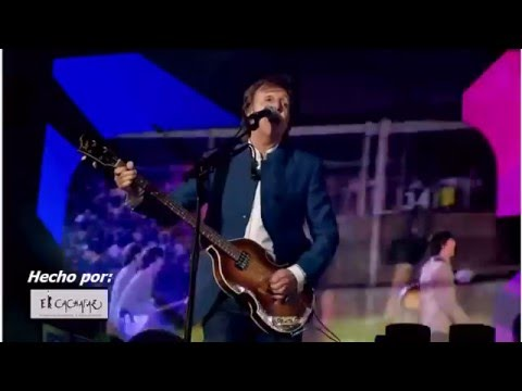 PAUL McCARTNEY en Cordoba, ARGENTINA * ESPECIAL* Hola culiados....