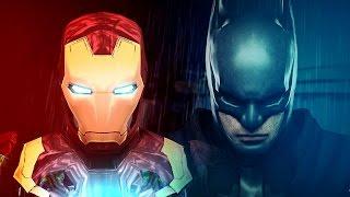 BATMAN vs. IRON MAN (Battle Of The Billionaires) | ARCADE MODE! [EPISODE 6]