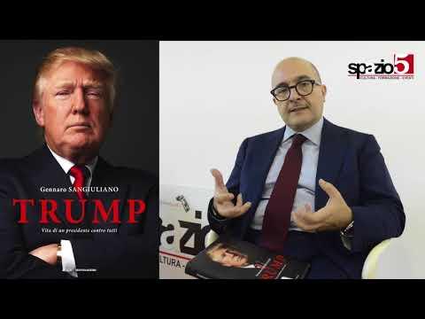 Gennaro Sangiuliano presenta 'Trump' a Spazio5