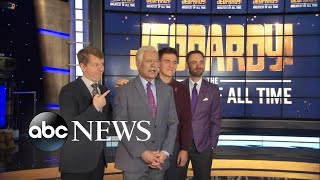 'Jeopardy!' prepares for 'Greatest of All Time' tournament l ABC News