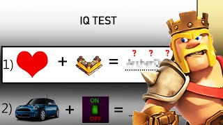 WHAT IF CLASH OF CLANS TROOPS HAD AN IQ TEST? PART2