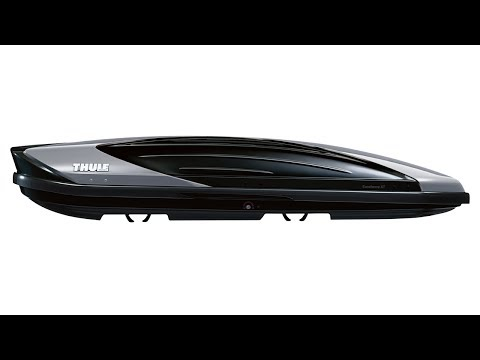 THULE Excellence XT Roof Box 6119B Black Glossy/Titan Metallic