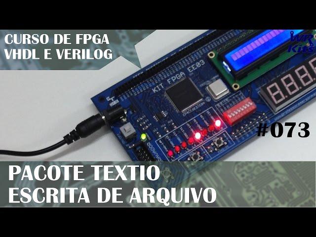 PACOTE TEXTIO PARA ESCRITA | Curso de FPGA #073