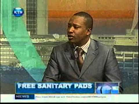African Cotton Director talks to KTN on Govt of Kenya's free sanitary towels for schools project