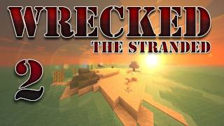 "Minecraft - ""Wrecked - The Stranded"" Part 2: More Than An Island"