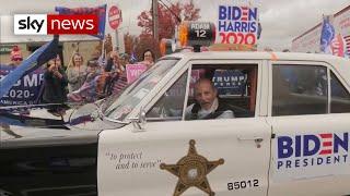 US Election 2020: Trump supporters show Biden winning Pennsylvania won't be easy