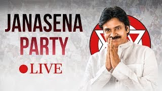 LIVE- Pawan Kalyan Meeting with Jana Sena Activists- Manga..