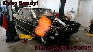 Getting Jackstands Nova Buttoned Up and Dyno Ready!!